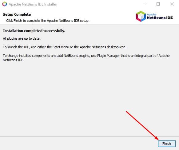 finish install netbeans - fandi.web.id