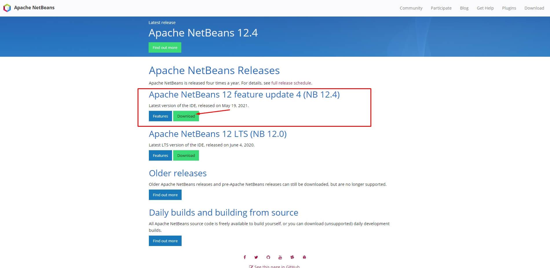 pilih versi terbaru netbeans - fandi.web.id
